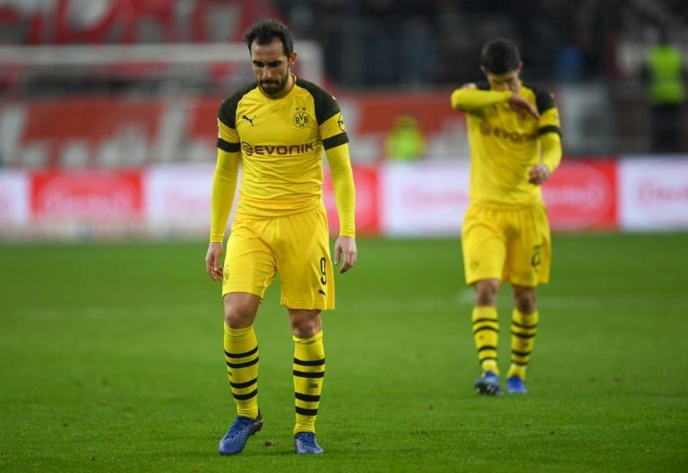 Borussia lose