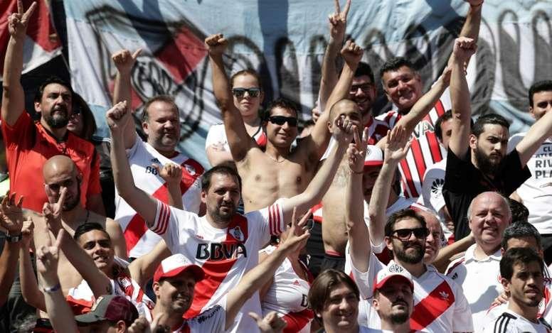 River Plate afición