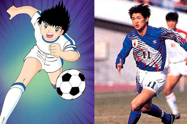 Oliver Atom y Kazuyoshi Miura
