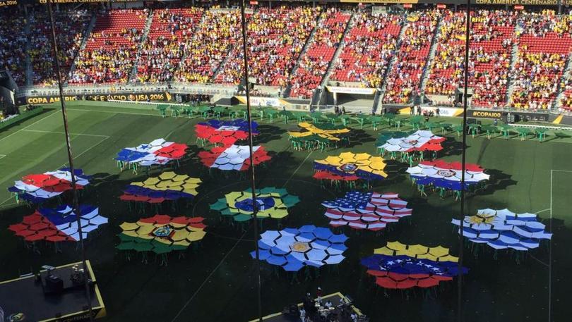 Inauguración de la Copa América Centenario