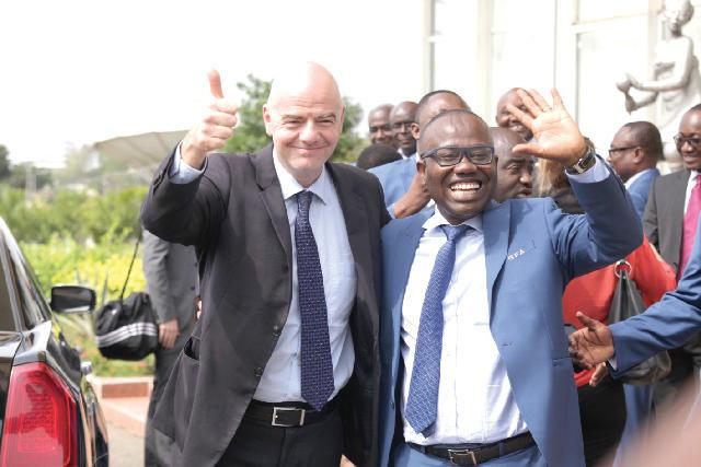 Infantino y Kwesi