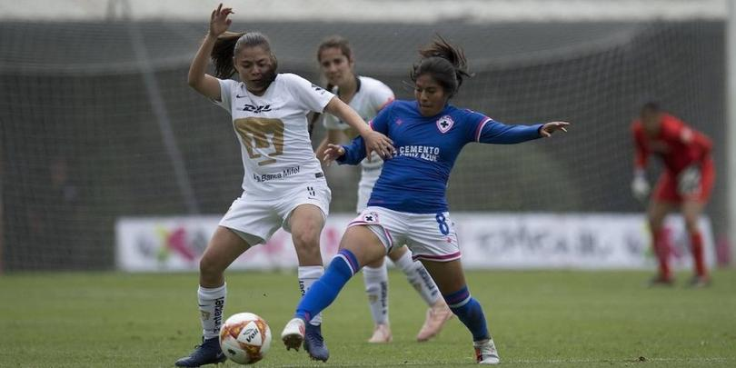 Pumas femenil vs Cruz Azul femenil