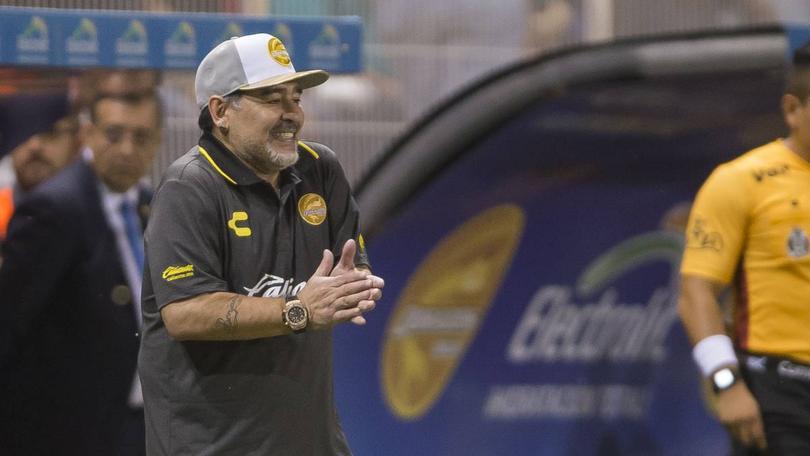 Netflix hará documental de Maradona en Sinaloa
