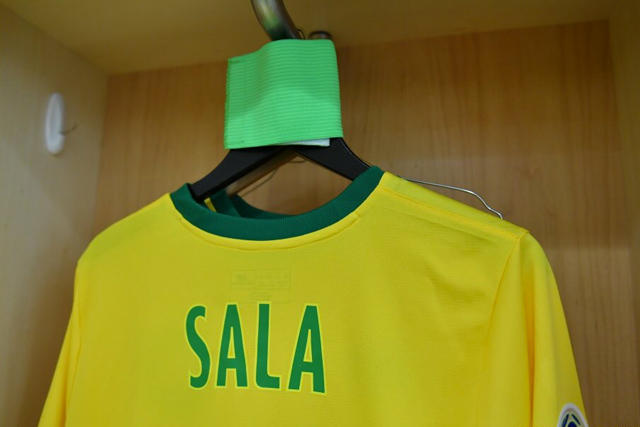 Jersey en honor de Emiliano Sala