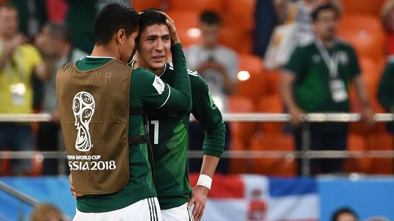 México vs Suecia Rusia 2018