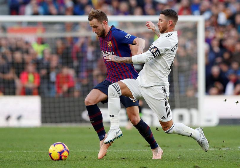 Barcelona y Real Madrid terminan empatadas en intenso partido de semifinales