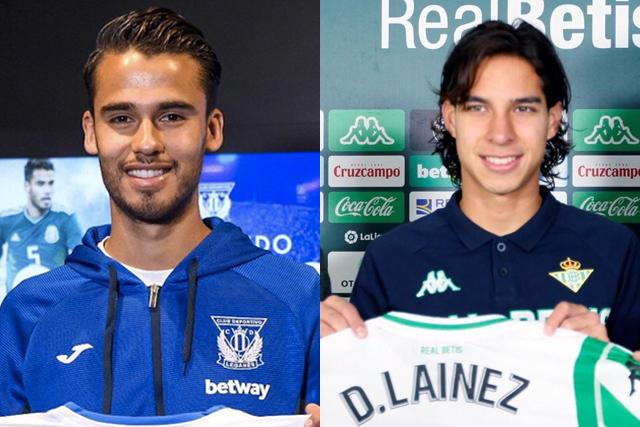 Diego Reyes y Diego Lainez