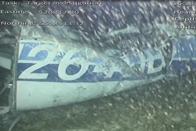 Captura de una toma del rescate del avión de Sala