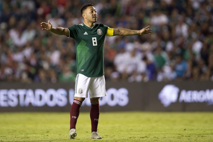 Marco Fabián con la Selección Mexicana