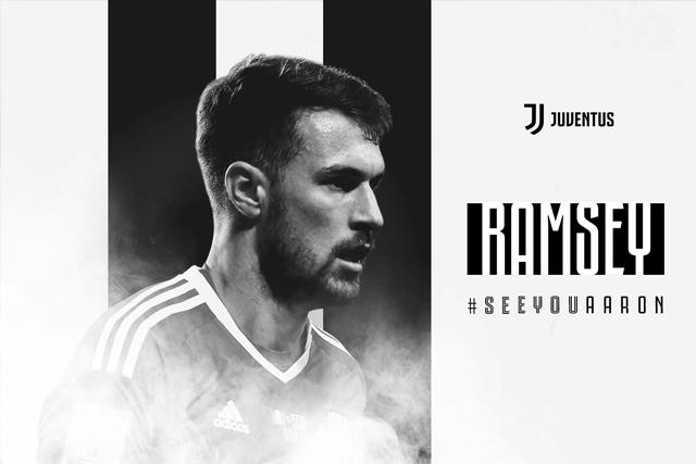 Anuncio de Aaron Ramsey como jugador de la Juventus