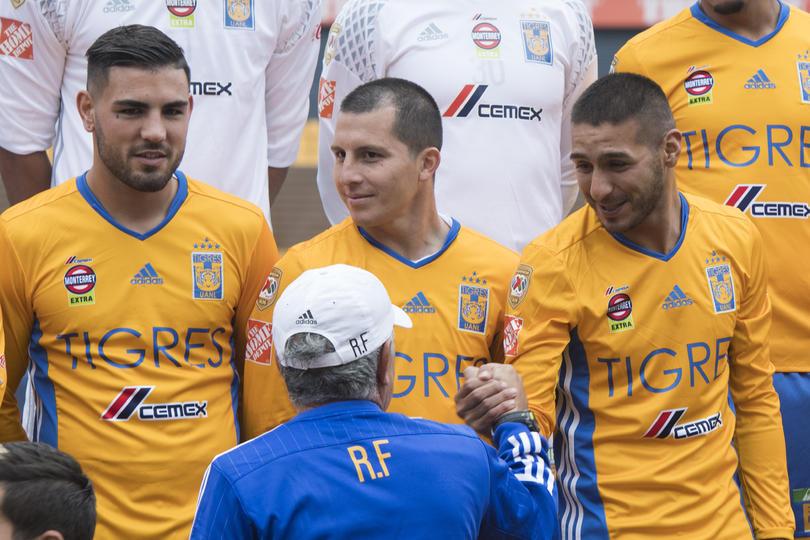 Andy Delort, Francisco Torres e Ismael Sosa con Tigres
