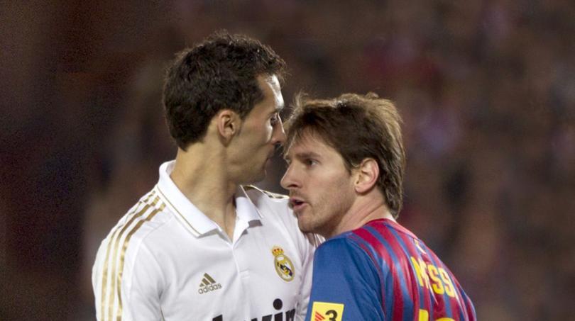 Arbeloa y Messi