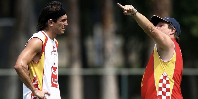 Bruno Marioni y Miguel Herrera