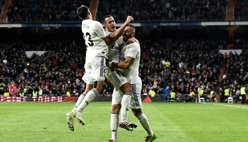Real Madrid gana su primer partido de octavos