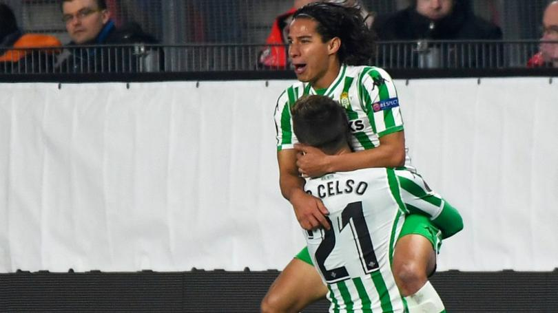 Diego Lainez y Lo Celso