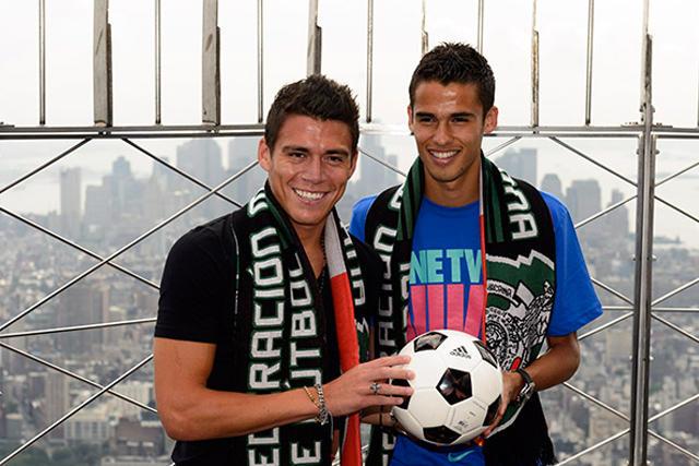 Héctor Moreno y Diego Reyes