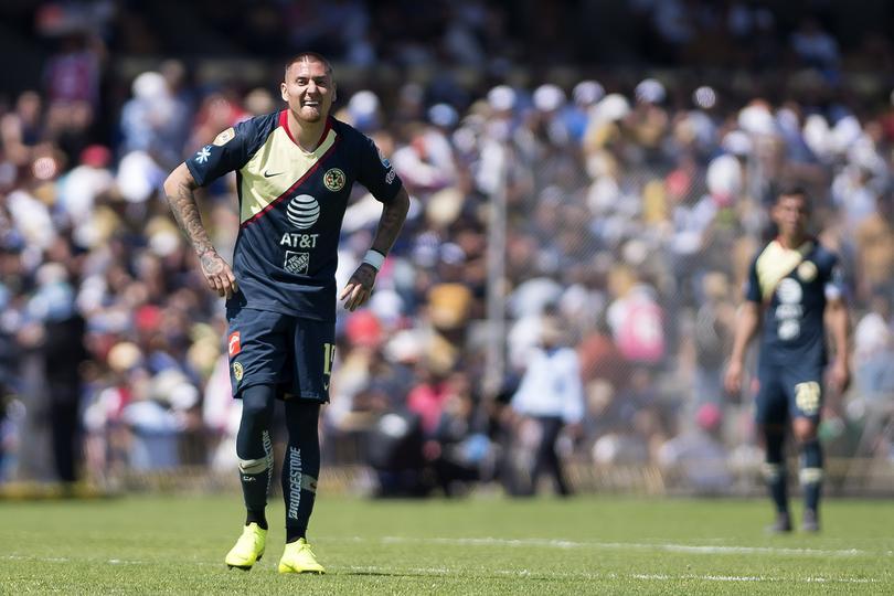 Nicolás Castillo en su regreso a CU
