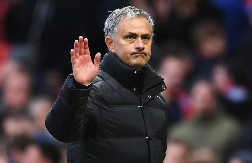 José Mourinho en partido