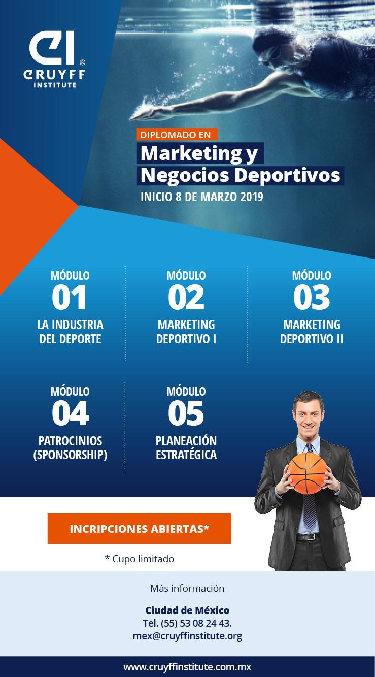 Diplomado en Marketing y Negocios Deportivos