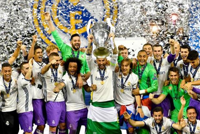 Real Madrid campeón de Champions en 2017