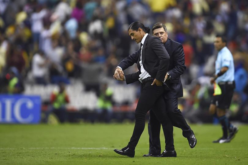 Francisco Palencia y Miguel Herrera