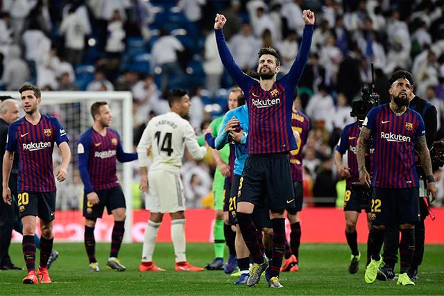Barcelona ganó en el Bernabéu para avanzar a la final
