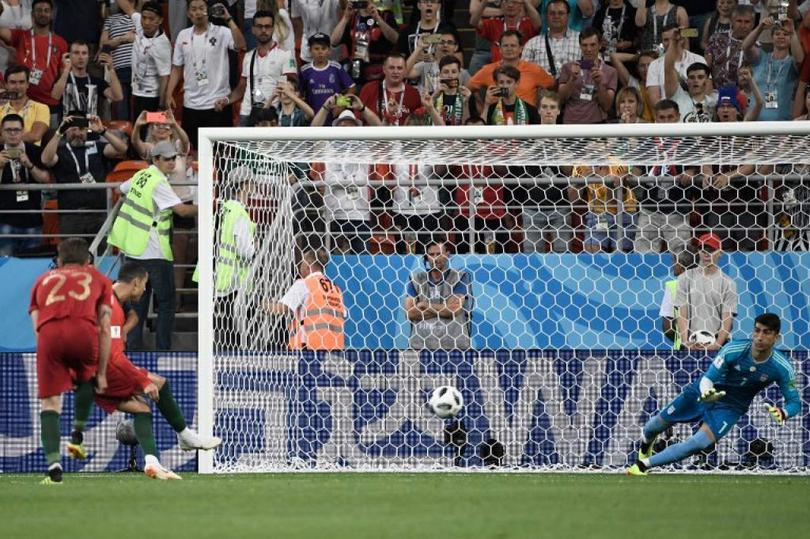 Penal Cristiano Ronaldo