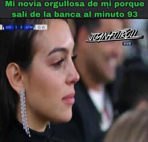 Meme remontada Juventus