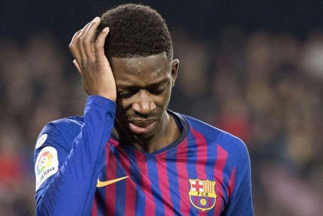 Ousmane Dembélé será baja por lesión durante un mes con el Barcelona
