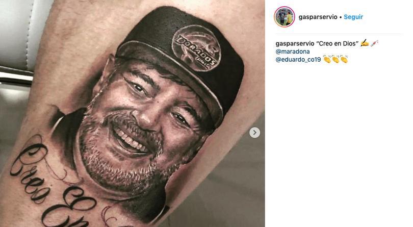 Tatuaje Maradona