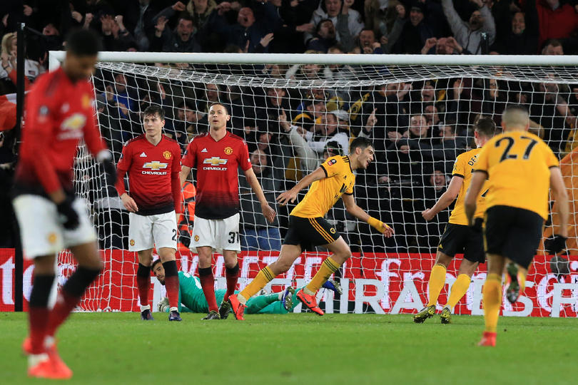 Raúl Jiménez vs Manchester United