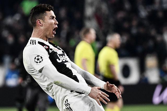 Festejo por el que Cristiano Ronaldo podría ser sancionado por la UEFA