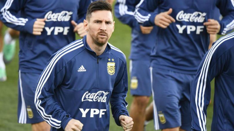 Messi en Valdebebas