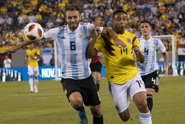 Argentina y Colombia presentaron los jerseys que usarán en la Copa América 2019