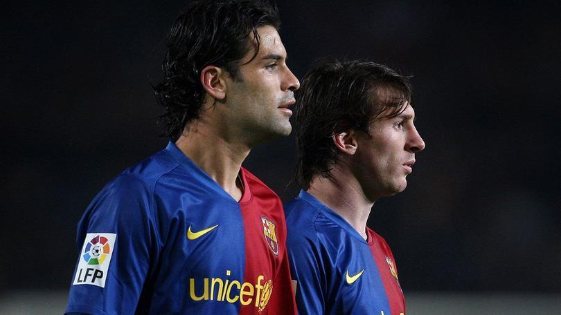 Rafael Márquez y Lionel Messi