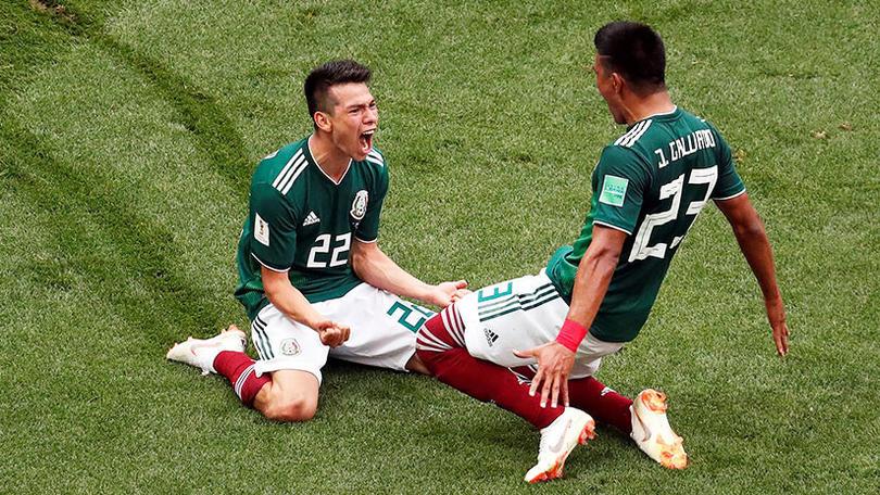 """Estas son las sensaciones que invaden al """"Chucky"""" Lozano tras su gol a Alemania."""