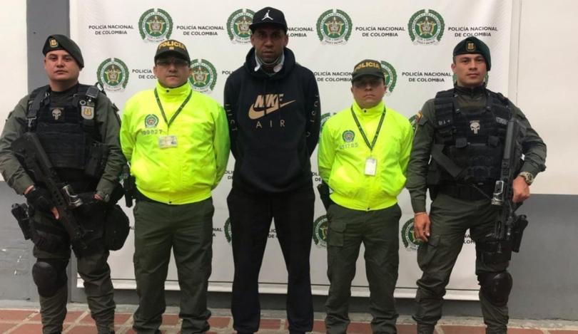 Jhon Viáfara arrestado por las autoridades colombianas