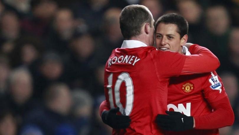 A Wayne Rooney le gustaría tener a Chicharito en su equipo de la MLS