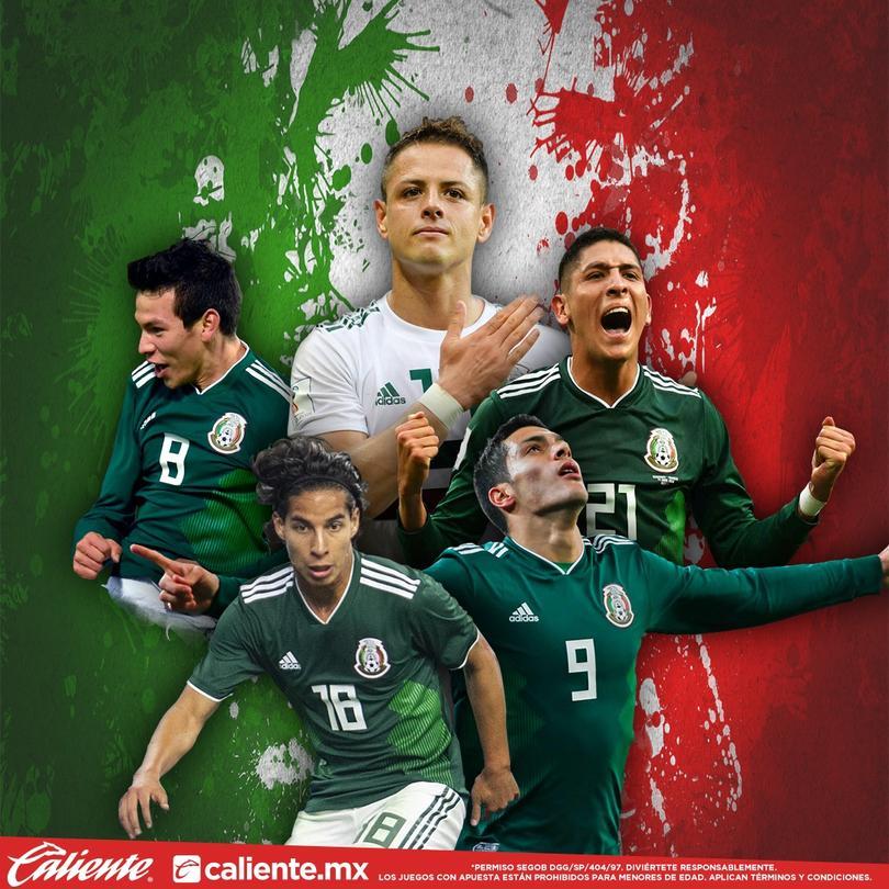 Apuestas para el México vs Chile