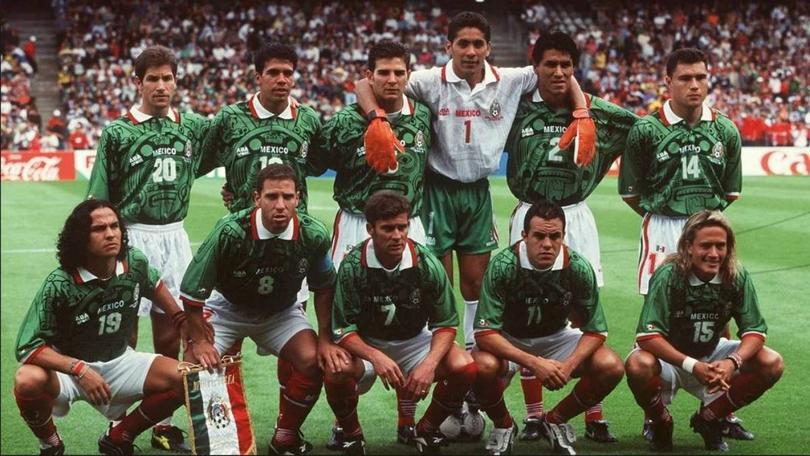 Selección Mexicana que disputó Francia '98