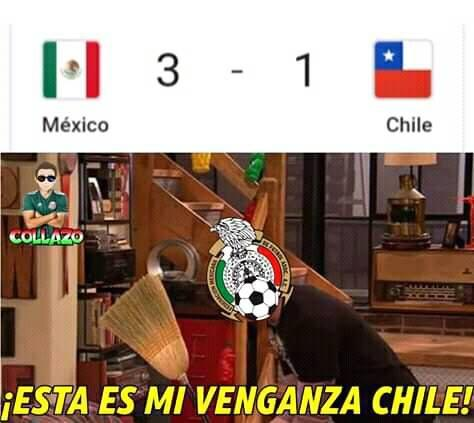 Meme México vs Chile