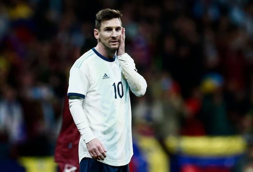 Lionel Messi contra Venezuela
