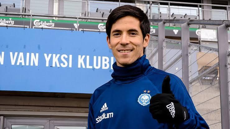 Marco Bueno está en prácticas para jugar en Finlandia