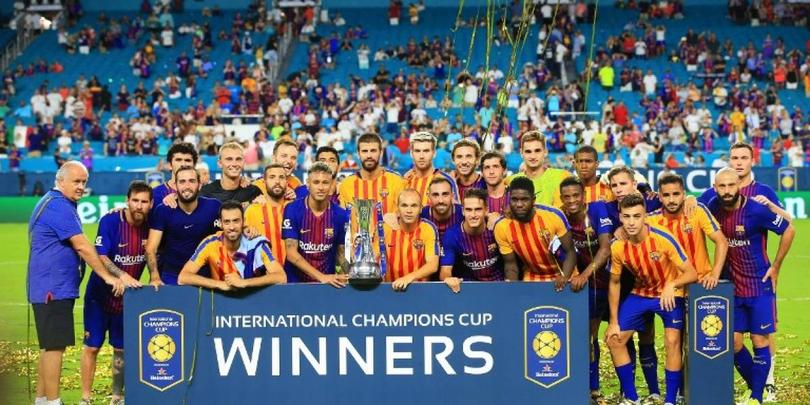 Barcelona no estará en la International Champions Cup por una gira en Asia