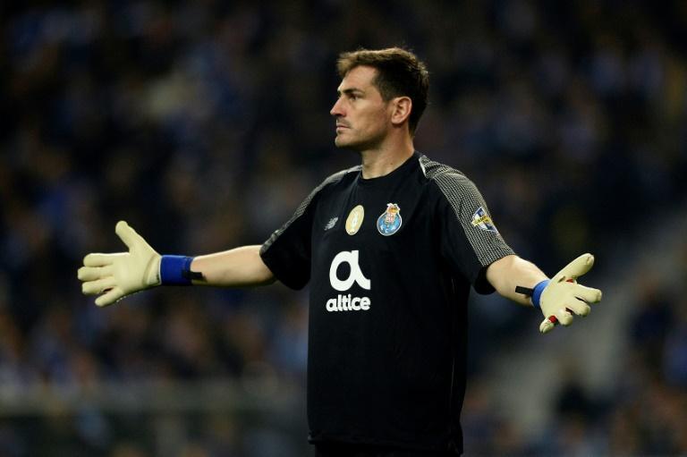 Iker Casillas con Porto