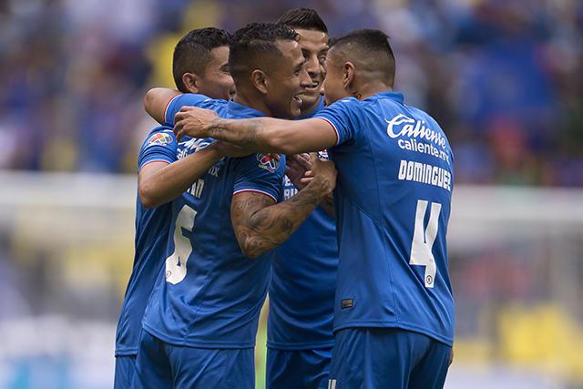 Cruz Azul tendrá seis bajas para jugar contra Rayados