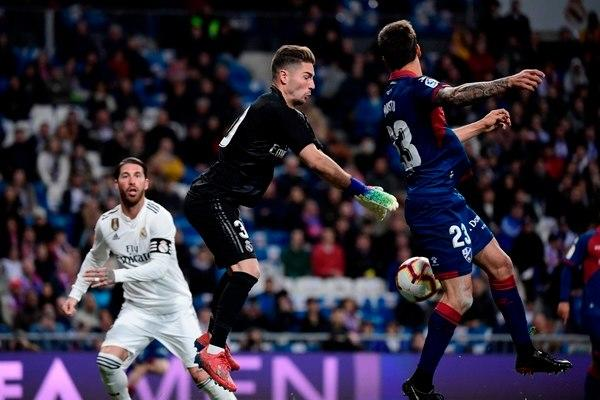 Zidane en acción