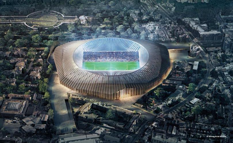 Remodelación de Stamford Bridge