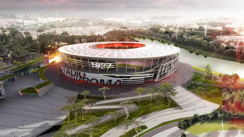 Proyecto del Stadio della Roma