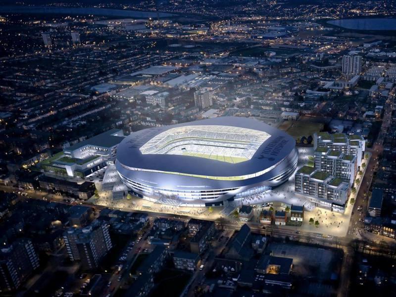 White Hart Lane, nuevo estadio del Tottenham